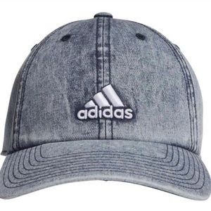 RARE Adidas Acid Wash/ Bleached Denim Hat